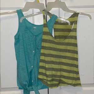 F21 and Old Navy tank tops